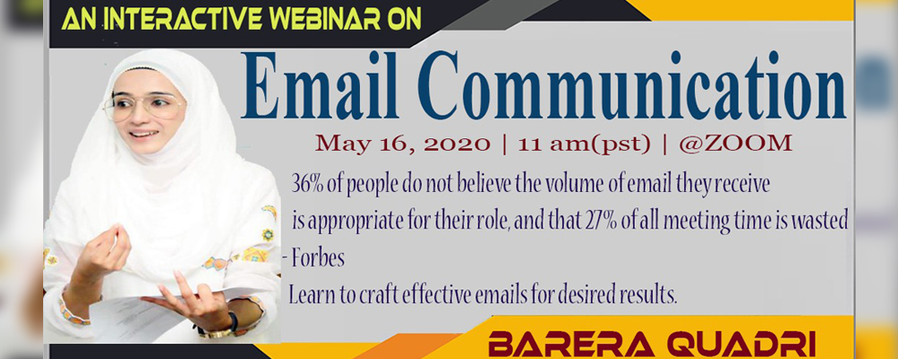 Webinar on Email Communication
