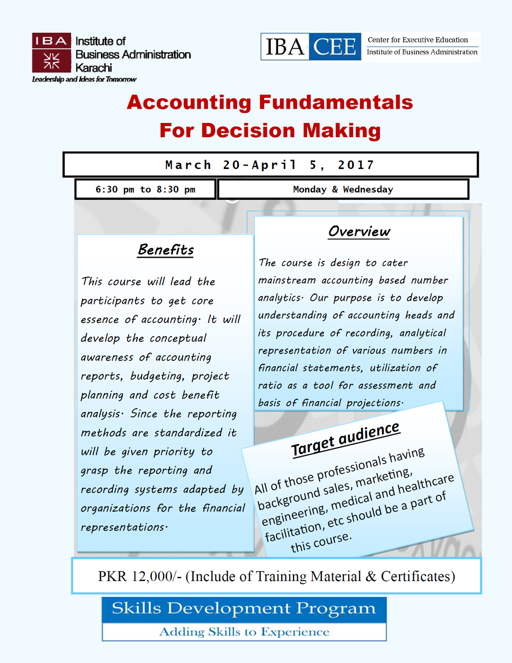 Accounting Fundamentals For Decision Making