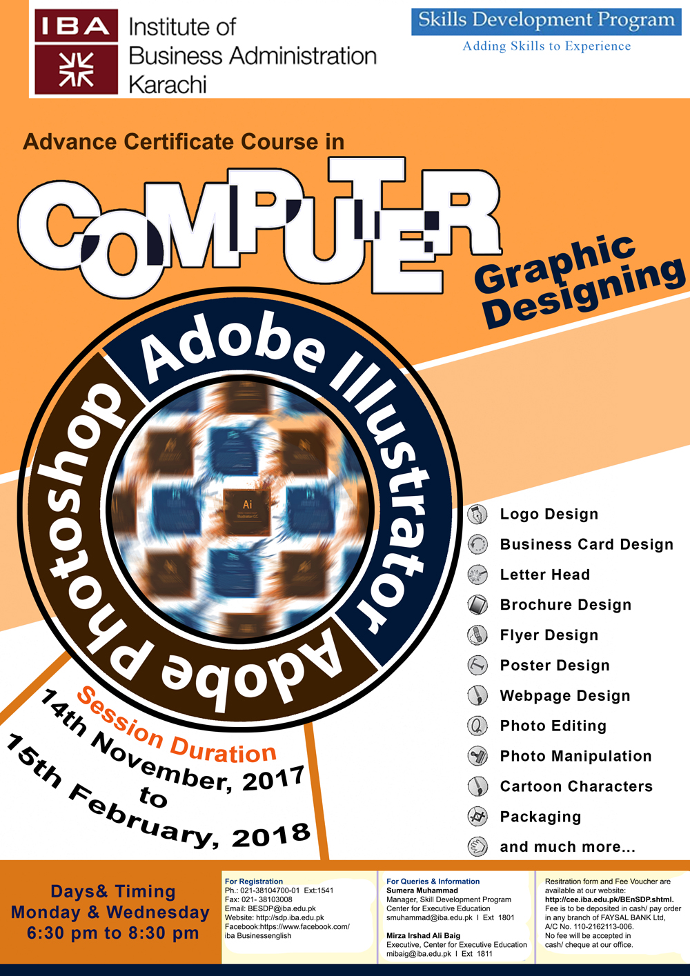 Advance Certificate Course in Computer Graphic Designing