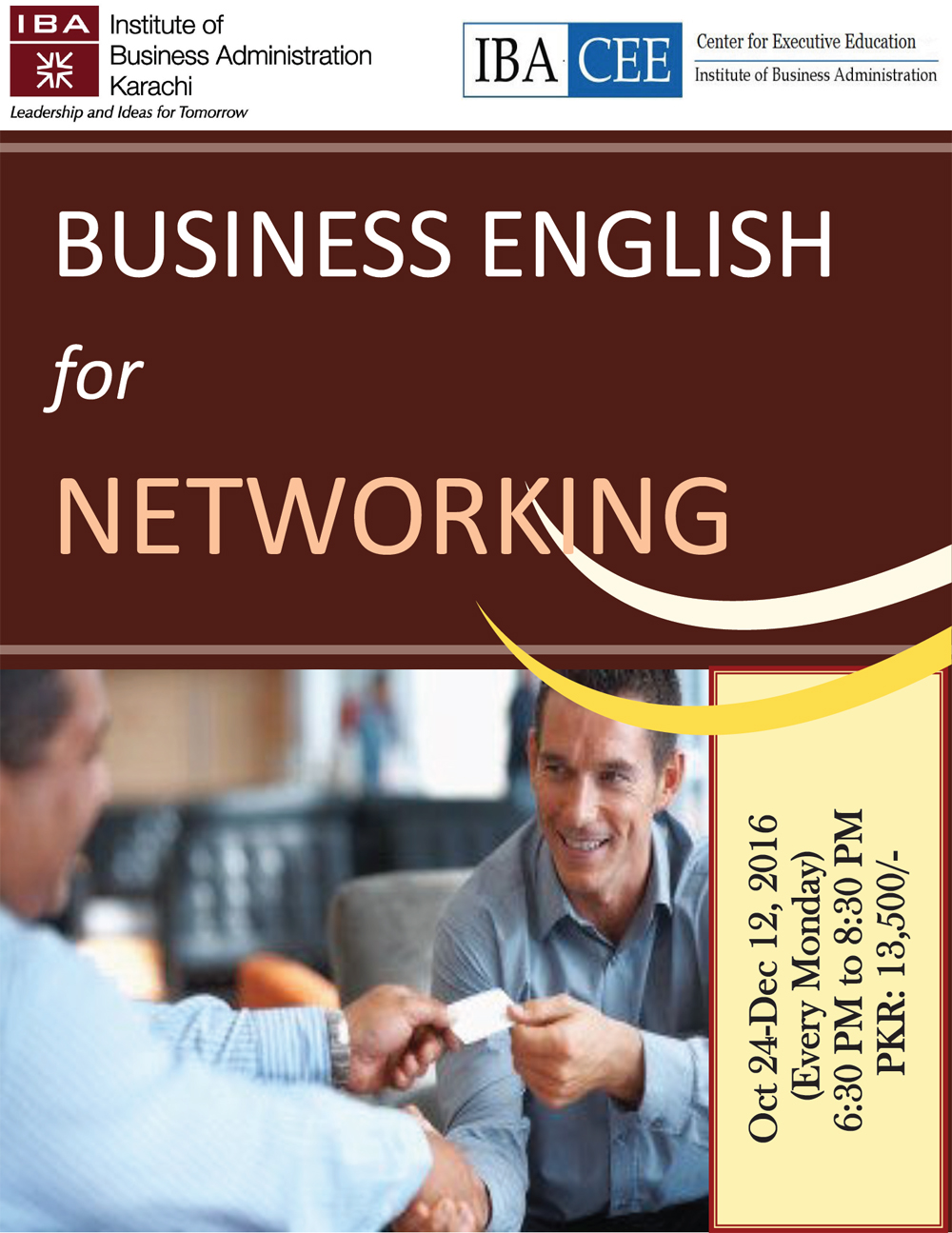 Business English for Networking
