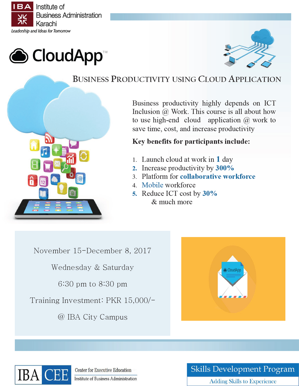 Business Productivity using Cloud Application