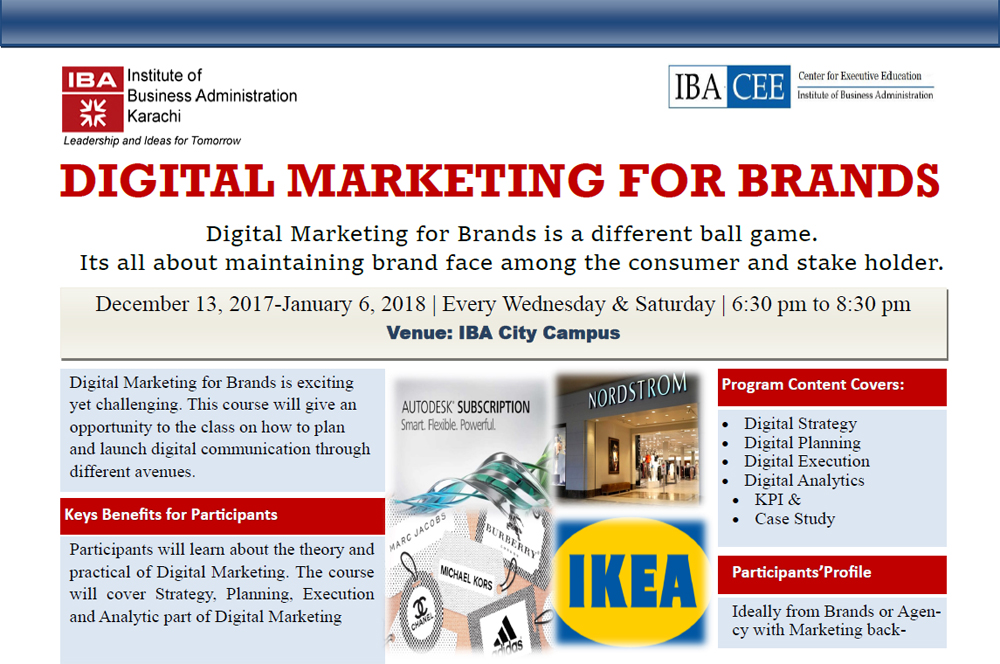 Digital Marketing for Brands