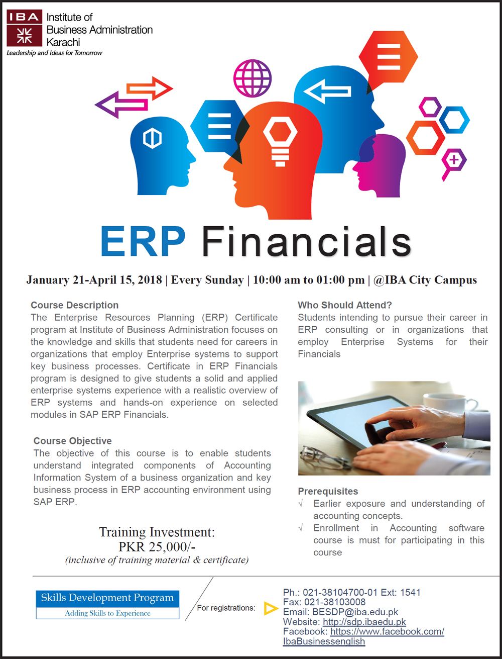 ERP Financials