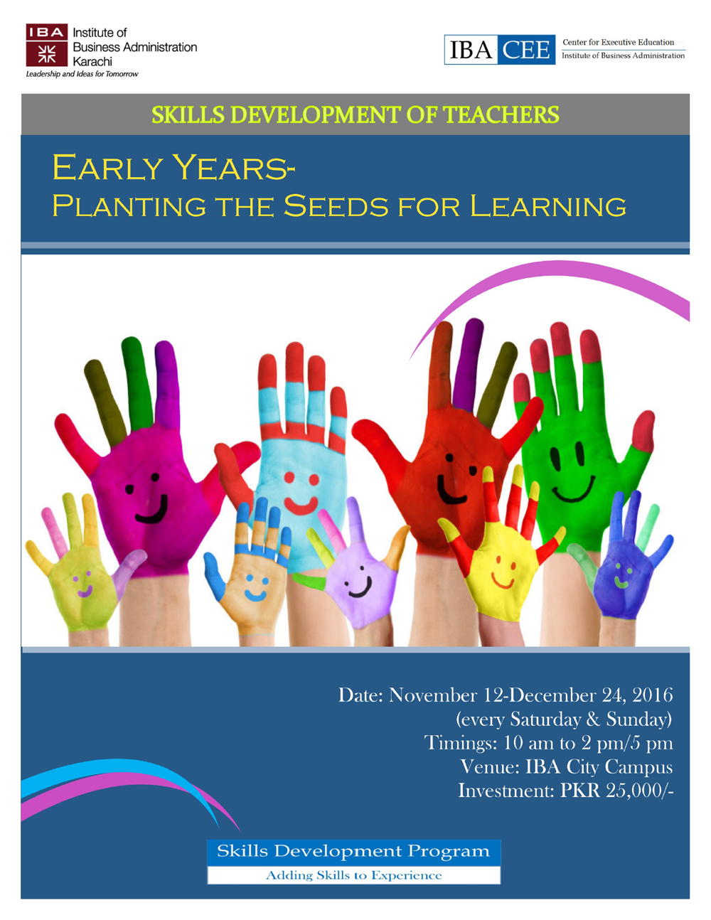 Early Years-Planting the Seeds for Learning