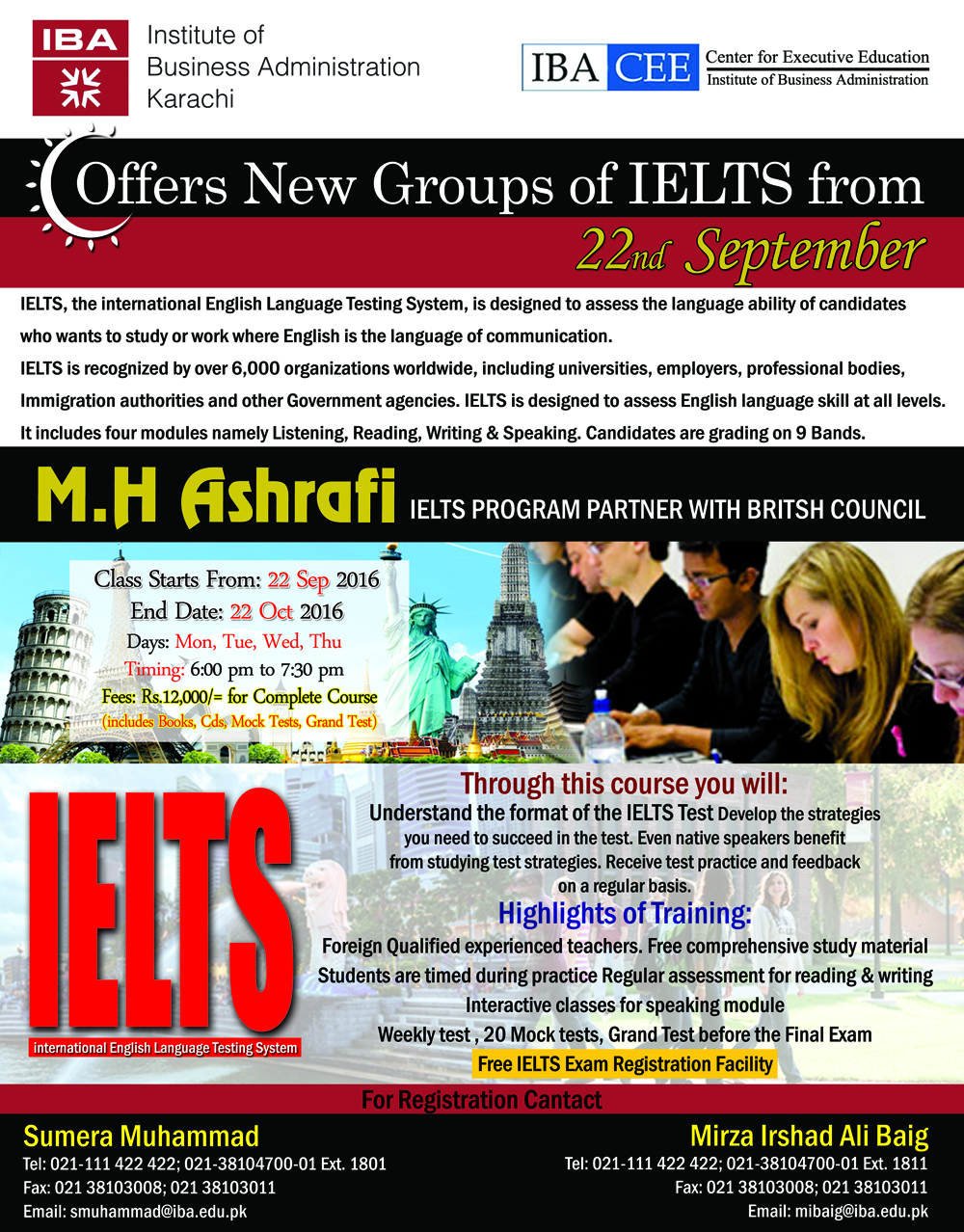 IELTS Preparation for Acad & General Test