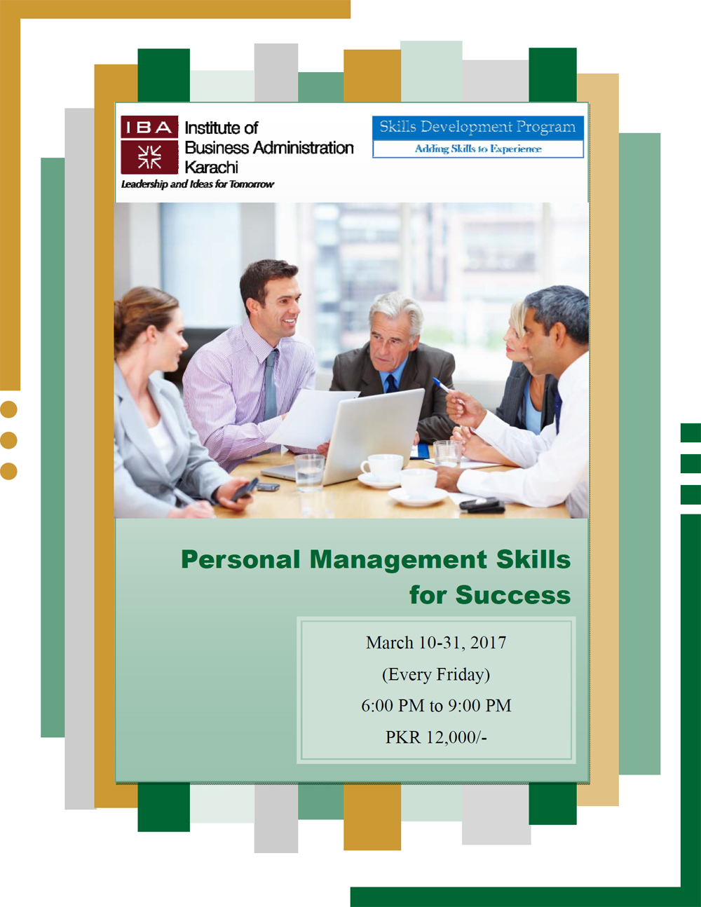 Personal Management Skills for Success