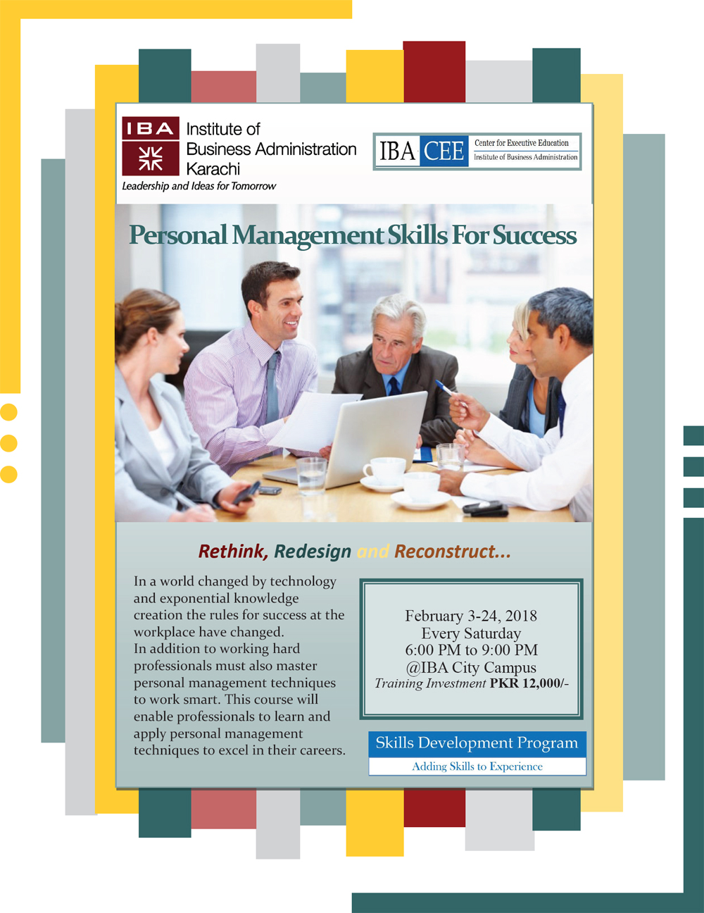 Personal Management for Success
