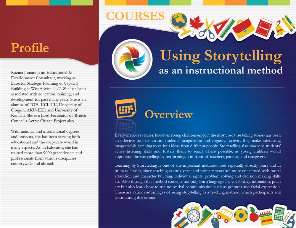 Using Storytelling as an Instructional Method