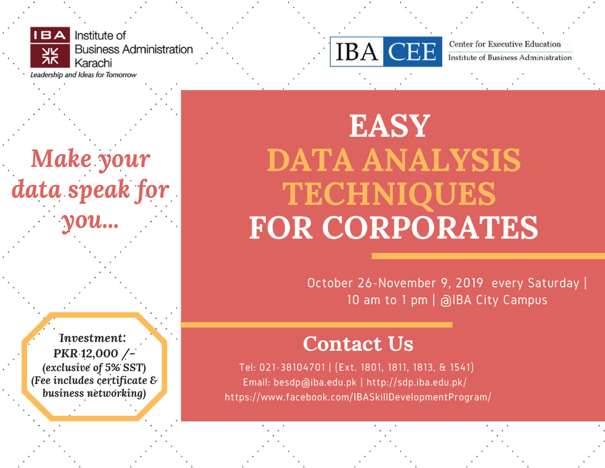 Easy Data Analysis Techniques for Corporates
