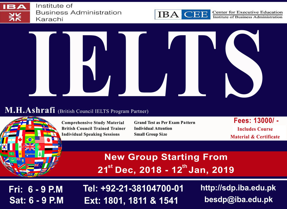 IELTS-Preparatory Classes