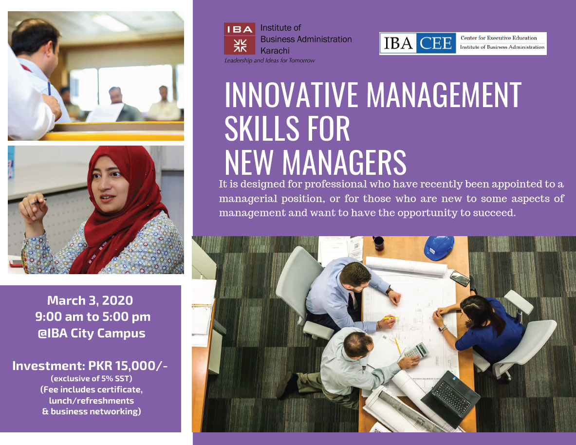 Innovative Management Skills for New Managers