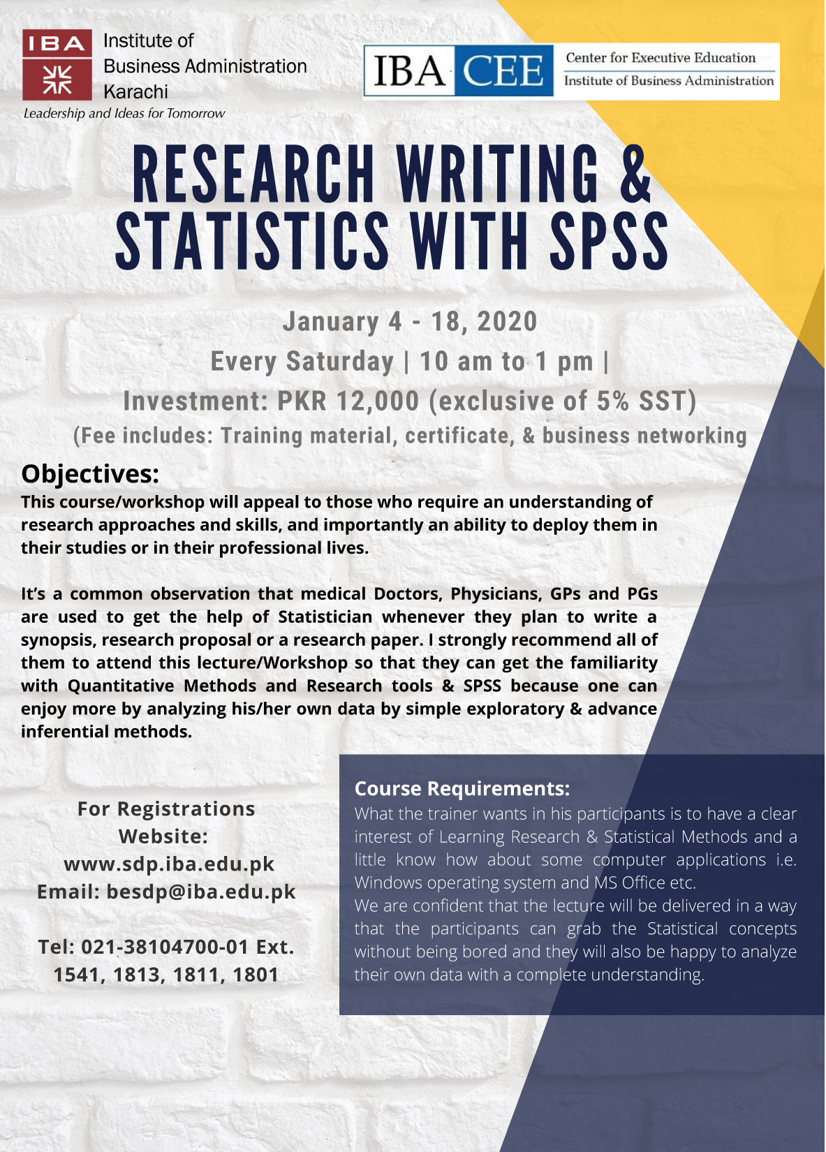 Research Writing & Statistics with SPSS